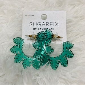 COPY - Sugar fix by baublebar palm leaf hoops